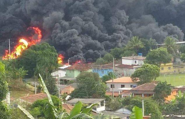 Afonso Cláudio: caminhão que transportava gasolina explode e motorista morre carbonizado | Sim Notícias